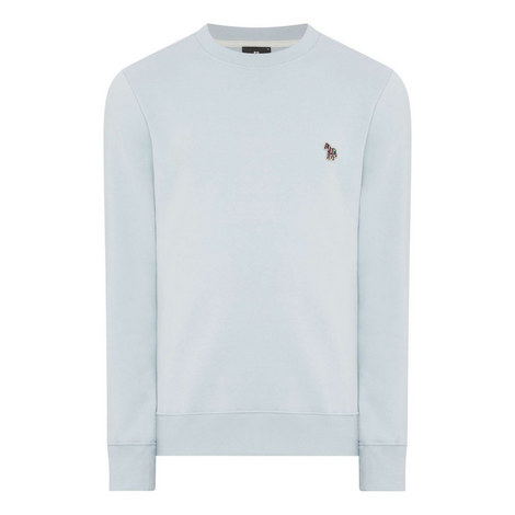 Zebra Crewneck Sweatshirt, ${color}