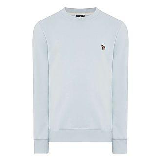 Zebra Crewneck Sweatshirt