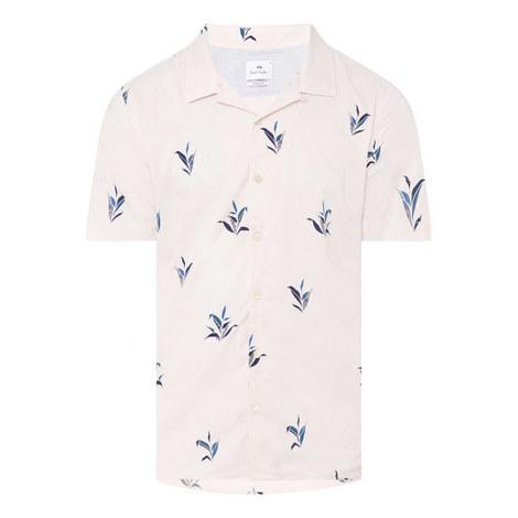 Leaf Print Shirt, ${color}
