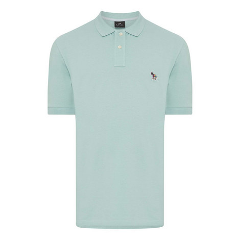 Zebra Appliqué Slim Fit Polo Shirt, ${color}