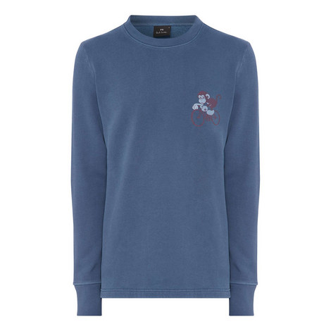 Cycling Monkey Sweatshirt, ${color}