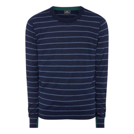 Merino Striped Sweater, ${color}