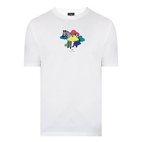 Zebra Cloud T-Shirt, ${color}