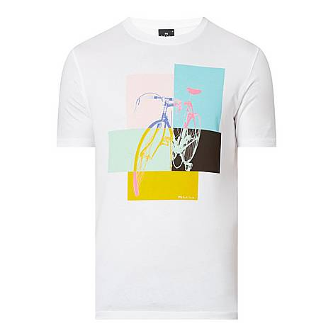Bicycle Colour Block T-Shirt, ${color}