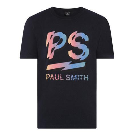Blurry Logo T-Shirt, ${color}