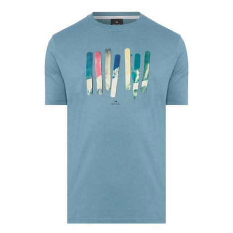 Paint Stick Print T-Shirt, ${color}
