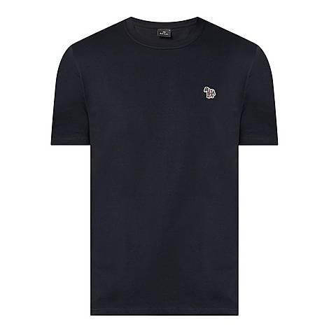 Zebra Logo Organic Cotton T-Shirt, ${color}
