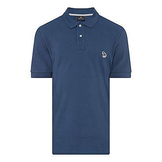Zebra Appliqué Polo Shirt