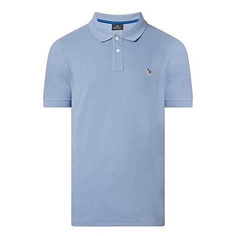 Zebra Badge Polo Shirt, ${color}