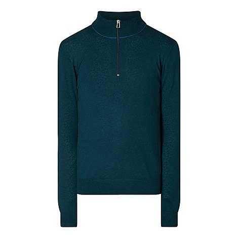 Half-Zip Merino Sweater, ${color}