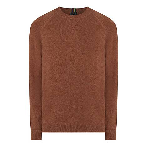 College Crew Neck Sweater, ${color}