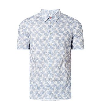 Blue Palm Shirt