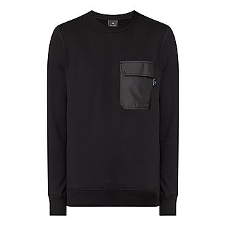Contrast Pocket Sweatshirt