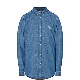 Zebra Denim Shirt