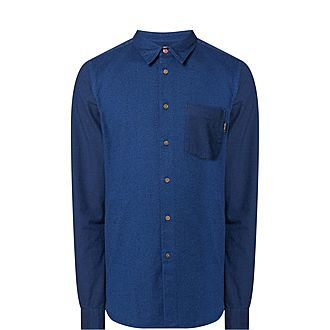 Regular Fit Two Tone Shirt