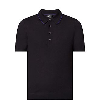 Knit Polo Shirt