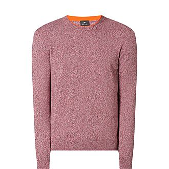 Mélange Crew Neck Sweater