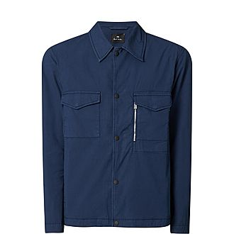 Zip Pocket Overshirt