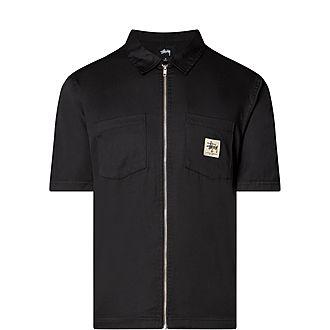 Full Zip Work Shirt
