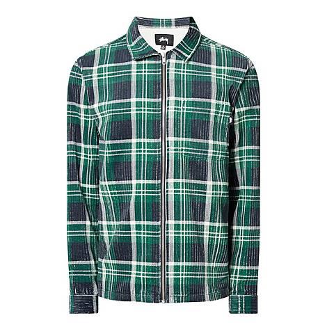 Big Wale Cord Zip Shirt , ${color}