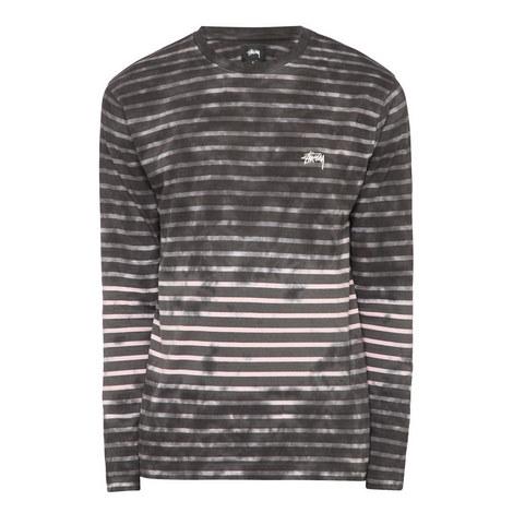 Bleached Stripe T-Shirt , ${color}