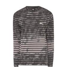 Bleached Stripe T-Shirt
