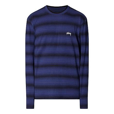 Ombré Long Sleeve T-Shirt, ${color}