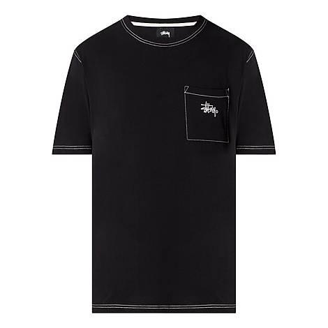 Stock Pocket Crew Neck T-Shirt, ${color}