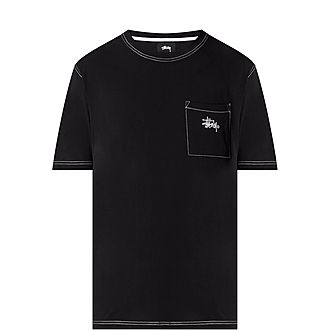 Stock Pocket Crew Neck T-Shirt