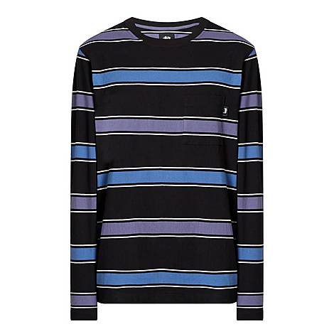 Marco Striped Long-Sleeve T-Shirt, ${color}