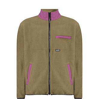 Nylon Mock Neck Jacket