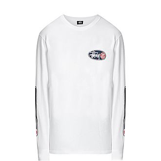 Oval Grid Long Sleeve T-Shirt