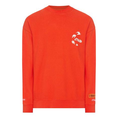 Hanyu Pinyin Print Sweatshirt, ${color}