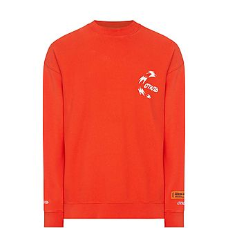 Hanyu Pinyin Print Sweatshirt