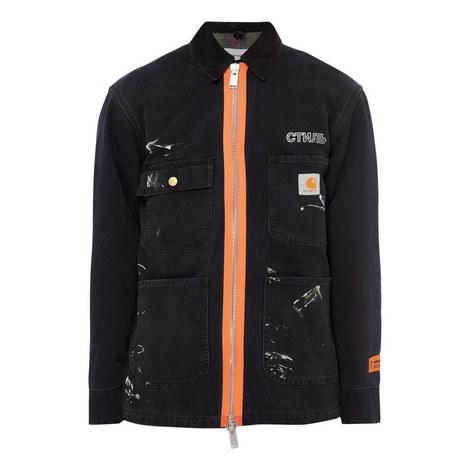 Workwear Splatter Jacket, ${color}