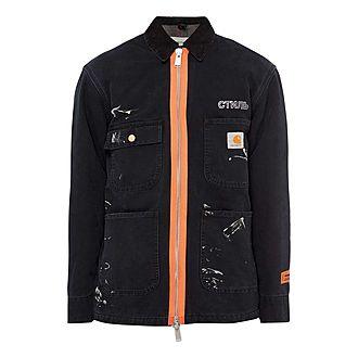Workwear Splatter Jacket