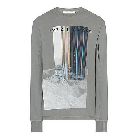 City Mountain Cotton Sweatshirt, ${color}