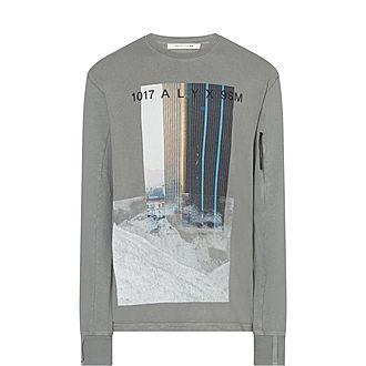 City Mountain Cotton Sweatshirt