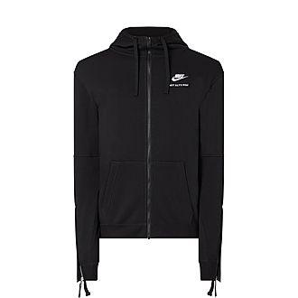 Nike Zip Detail Hoodie