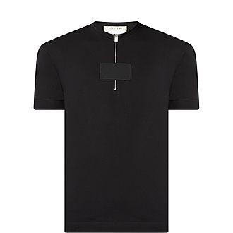 Zip Front T-Shirt
