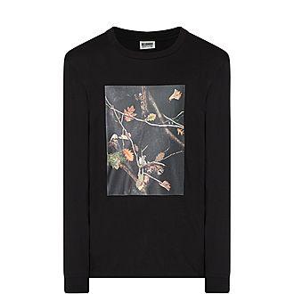 Long Sleeve Tree Camo Swatch T-Shirt