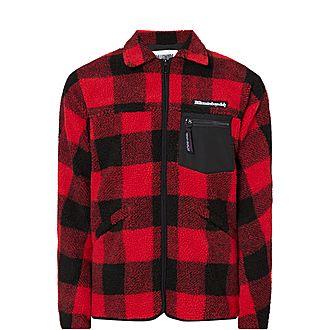 Fleece Check Jacket