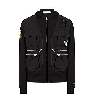 Tactile Zip-Through Jacket