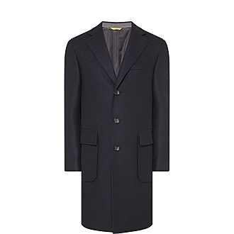 2cc72c028164 Sale CANALI Kei Overcoat Now €475.00. Was €1,230.00