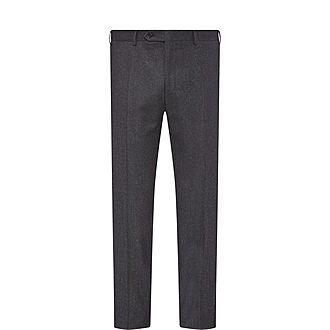 Drop 6 Formal Flannel Trousers