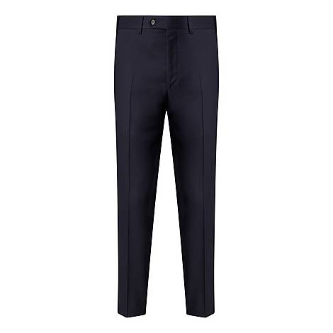 Drop 6 Formal Flannel Trousers, ${color}
