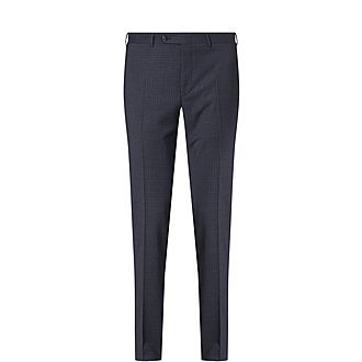 Micro Check Trousers