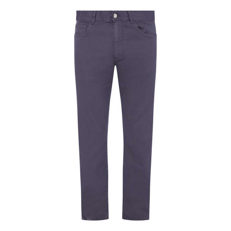 Casual Five Pocket Trousers, ${color}