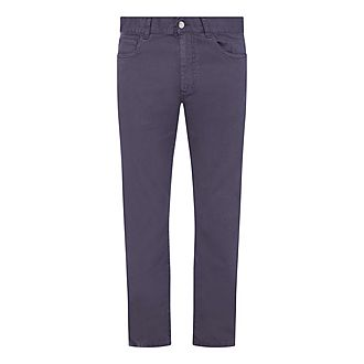 Casual Five Pocket Trousers