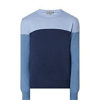Block Knit Sweater